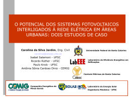 CBE 2004 - O potencial dos sistemas fotovoltaicos interligados à