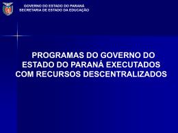 GRF - Gestão de Recursos Financeiros (PR)
