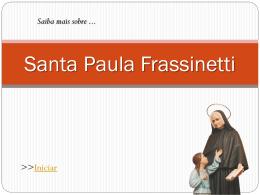 Santa Paula Frassinetti - Colégio Santa Dorotéia de Porto Alegre