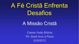 A Missão Cristã