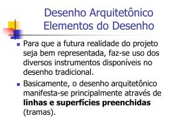 05-Elementos do desenho Arquitetonico