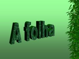 FOLHA - Colégio Machado de Assis