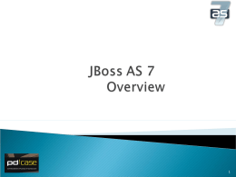 JBoss AS 7 - Messias Bittencourt