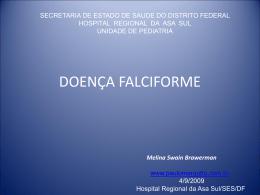 DOENÇA FALCIFORME - Paulo Roberto Margotto