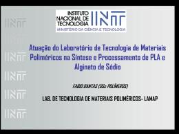Fabio Dantas INCT-INT