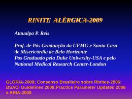 Rinite Alérgica -2009 - Clínica de Alergia e Pneumologia