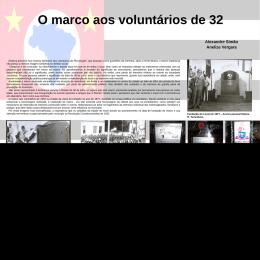 O marco aos voluntários de 32 (2).