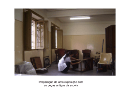 7. Organização de exposições