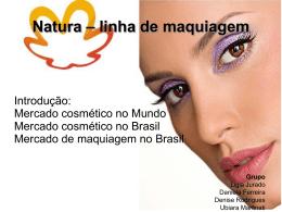 Natura – linha de maquiagem - ceag-nme-luciel-2014-1
