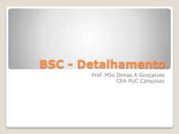 BSC - Detalhamento - PUC