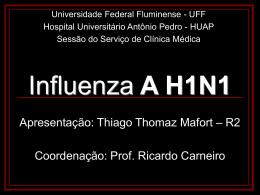 Fluxograma de atendimento -casos suspeitos de gripe-