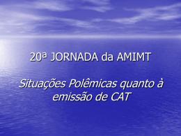 20ª JORNADA da AMIMT