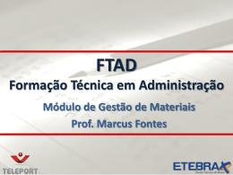 FTAD 2011.4 Gestão