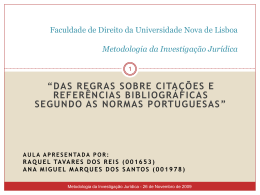 Citações Referências Bibliográficas