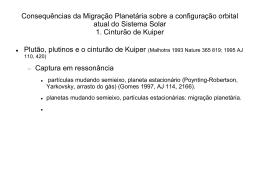 Consequências da Migração Planetária sobre a configuração orbital