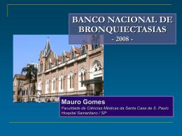 BANCO NACIONAL DE BRONQUIECTASIAS
