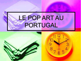 le pop art au portugal