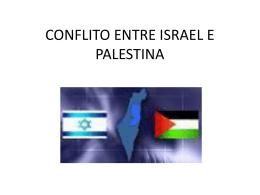 Oriente medio israel e palestina