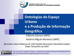 Ontologias Urbanas e a Produção de Informação - DPI