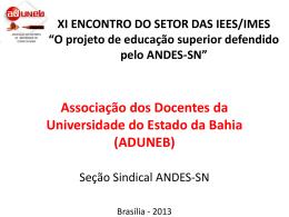 ADUNEB - Andes-SN