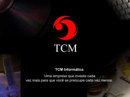TCM Apresentação inicial
