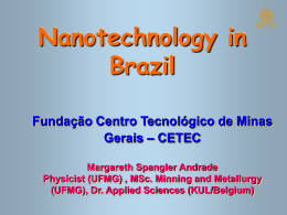 Nanotechnology in Brazil