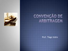 Convenção de Arbitragem 97-2003