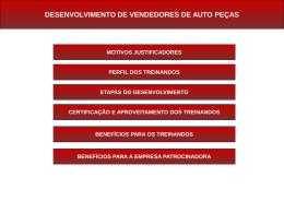 DESENVOLVIMENTO DE VENDEDORES DE