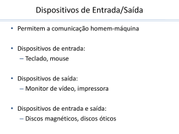 Dispositivos de E/S