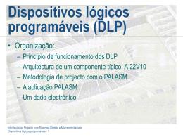 Dispositivos Lógicos Programáveis