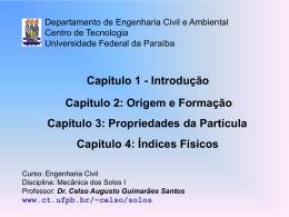 Cap. 1-2-3-4 - Centro de Tecnologia