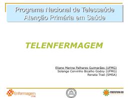 Slides Enfermagem-2 - Universidade Federal de Minas Gerais