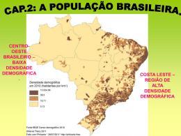 Capítulo 2 - Populaçăo do Brasil