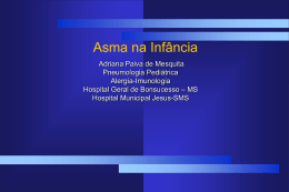 IV Diretriz Brasileira para o Manejo da Asma,2006