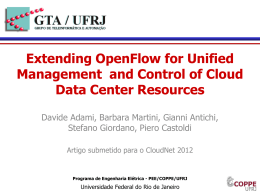 Extending OpenFlow for Unified Management and Control of