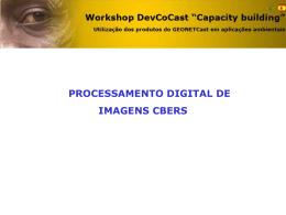 Apresentação do PowerPoint - Divisão de Sensoriamento Remoto