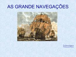 O que provocou a expansão comercial e marítima