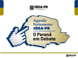 Agenda Parlamentar 2011 - CREA