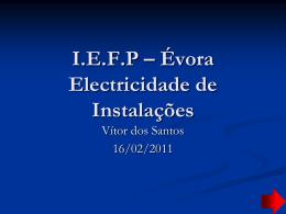 I.E.F.P – Évora Electricidade de Instalações