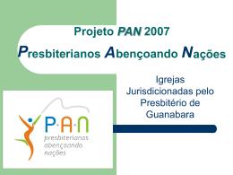 Projeto de Evangelismo no PAN 2007