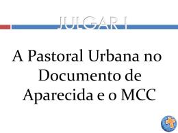 julgar i – pastoral urbana