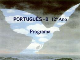 PORTUGUÊS - B - Programa Prof2000