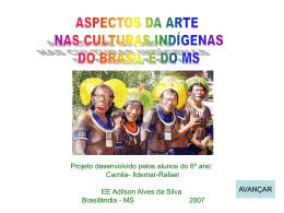 Projeto Aspectos da Arte na Cultura Indígena