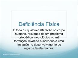Deficiência Física - Universidade Castelo Branco
