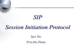 apresentação de SIP