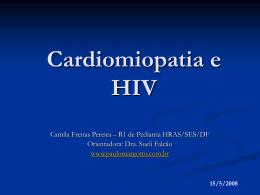 Miocardiopatia e HIV - Paulo Roberto Margotto