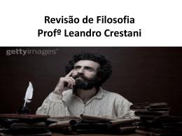 Revisão Filosofia