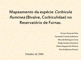 Mapeamento da invasão da espécie Corbicula fluminea (Bivalve