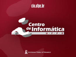 Modelagem conceitual para banco de dados Temporal