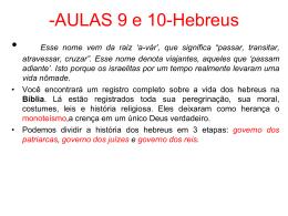 Hebreus-FENICIOS E PERSAS